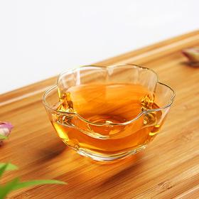 主人杯玻璃小茶杯创意功夫茶具品茗杯茶道配件茶盏单杯品茶杯高硼硅耐热玻璃人工吹制