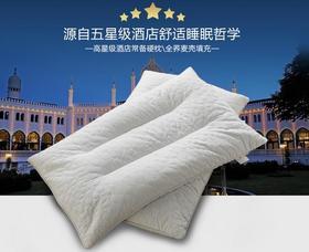 五星级酒店床上用品 荞麦 枕头 全荞麦枕 单人双人枕芯