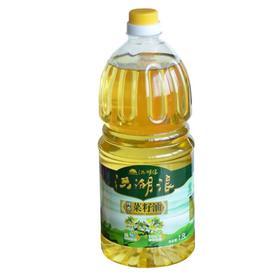 限武汉地区销售丨洪湖浪纯香一级压榨非转基因菜籽油1.8L/壶