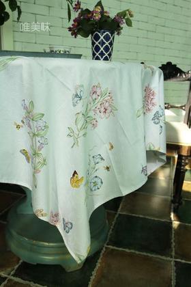 外贸 优质精梳棉 埃及棉 桌布 家宴轰趴 花间