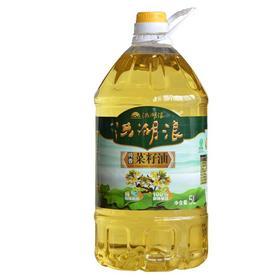 限武汉地区销售丨洪湖浪纯香一级压榨非转基因菜籽油5L/壶