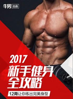 《电子书》2017新手健身全攻略 含12周教程及饮食规划