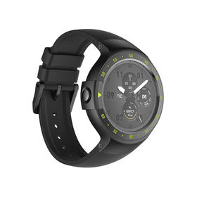 【出门问问】Ticwatch S 运动系列智能腕表 峭壁黑