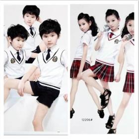 【美货】六一儿童表演服中小学生大合唱服校服朗诵服舞台服男女团体演出服