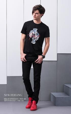 短袖上衣:M705VA1417¥499; 长裤:M704HC1327¥499