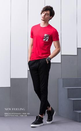 短袖上衣:M705VA1414¥399 ;长裤:M705HC1400¥539