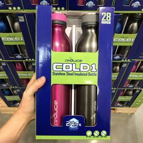 美国直邮 REDUCE双层不锈钢保温保冷杯水杯828ml/2支装