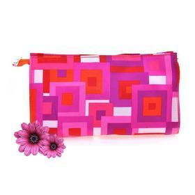 Clinique倩碧彩色几何图案化妆包