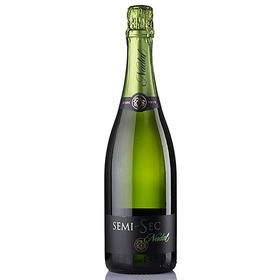 西班牙原瓶进口葡萄酒 佩尔德斯纳达尔珍藏卡瓦干起泡酒 750ml/支