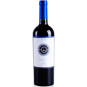 智利原瓶进口红酒 LYRA 天琴座美乐优选干红葡萄酒 750ml/支