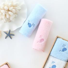 康尔馨NL棉花糖儿童方巾3条装  百分百精梳棉织造 手感柔软  无甲醛