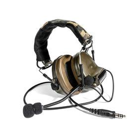 美军复刻  拾音降噪战术耳机 下场玩家必备神器