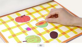 儿童静电贴纸书2-3-4岁宝宝粘贴纸粘贴画书幼儿卡通贴贴纸