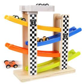 特宝儿轨道车1-2周岁3岁儿童玩具男孩女宝宝玩具车模型小汽车益智