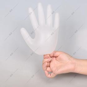 一次性手套 食品PVC 乳胶薄膜加厚款 橡胶 塑胶 厨房 餐饮100只装