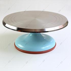 铝合金ABS塑料底裱花转台 蛋糕转台