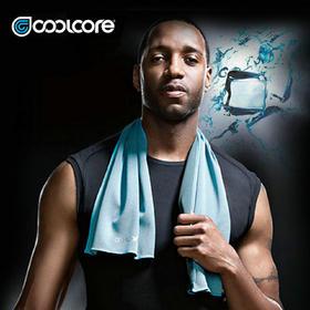 【麦迪代言NBA专用技术】Coolcore 黑科技冷感运动毛巾 男女夏户外跑步健身加长防紫外线擦汗降温魔幻冰凉巾