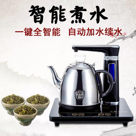 Q1全自动上水水壶电热壶304不锈钢电茶炉抽水煮茶泡茶烧水壶