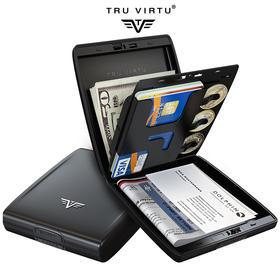 TRU VIRTU 德国卡之翼钱包 Beluga 博系列 防信息盗取多功能钱包 GSA最高级别安全认证
