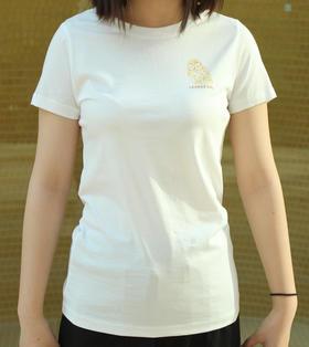 传奇猫头鹰女士短袖丝光料T恤