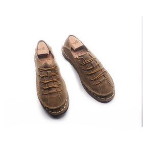 手工男鞋 偏小透气休闲气质中国风单鞋