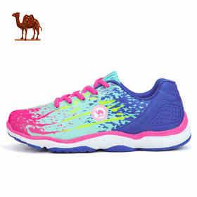 骆驼运动鞋 女款低帮系带跑步鞋透气耐磨休闲时尚青年运动跑鞋W61345511