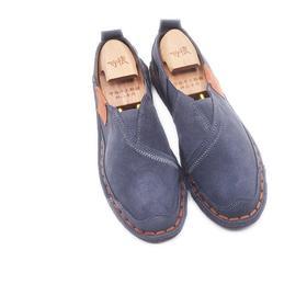 手工男鞋 中国风套脚单鞋