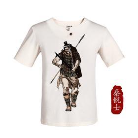 龙牙古典军事文化衫木扣版男版夏季吸汗透气修身短袖T恤 Ⅱ