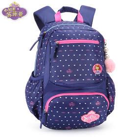 迪士尼书包小学生女童1-3-4年级苏菲亚公主6-12儿童休闲双肩背包