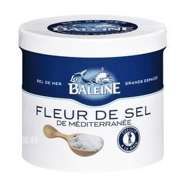 【真】法国原装进口 百年品牌Baleine/鲸鱼牌 地中海盐之花 125g 包邮
