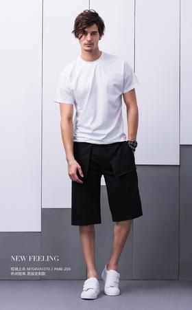 短袖上衣:M704VA1370¥299; 休闲短裤:高级定制款——