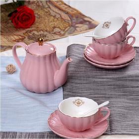 【CODA】 蔻达皇家下午茶套装 粉红色