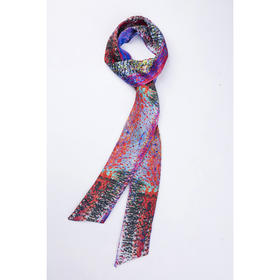 【赠】Mfmore 斜纹真丝艺术条巾 6*170cm 四季可佩戴