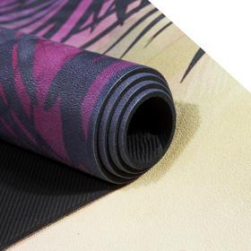 【赠】Mfmore 天然橡胶艺术瑜伽垫 1830*61*4mm