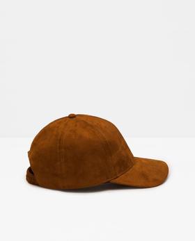 24MP05-001-239绒免人造皮棒球帽