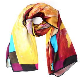 美国画家艺术丝巾系列—金山岭