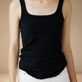 Gracebox 夏季纯色内穿无袖纯棉吊带背心修身显瘦百搭