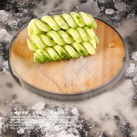 璟竹干冰盘系列-4种型号 圆盘24厘米,20厘米,方盘白色黑色