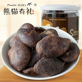 腻腻熊猫有礼 香菇脆片  鲜香味美,脆香可口,酥而不腻,富含膳食纤维