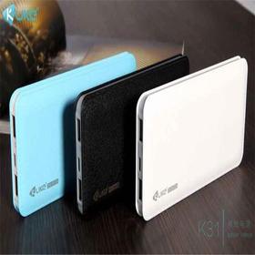 移动电源 酷客K31/10000毫安手机充电宝 超薄彩色便携式