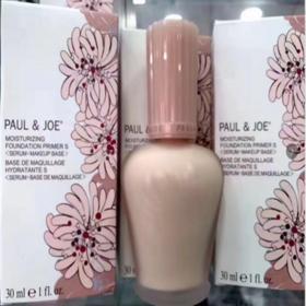日本PAUL&JOE PJ陶瓷隔离/搪瓷丝润隔离霜1号色