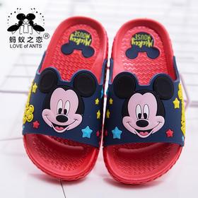 5781新款2017米奇小童凉拖鞋正品迪士尼防滑儿童拖代理一件代发