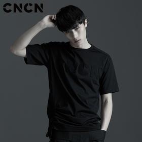 CNCN男装 品牌LOGO字母T恤 男夏季短袖体恤CNBT29043