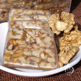 【美货】儿时零食纯手工蜂蜜野生山核桃糕非切糕蜂蜜核桃糖360g