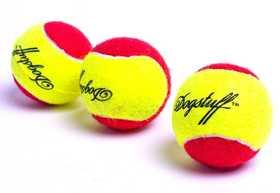 美国酷极狗玩具宠物猫玩具发声音耐咬磨牙弹力狗网球