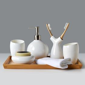陶瓷洗漱套装