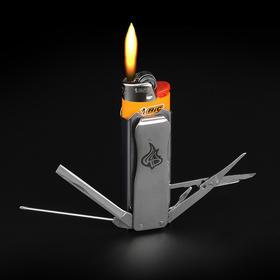 CooYoo LighterBro 纵火范 随身EDC 打火机多功能工具套送Bic火机