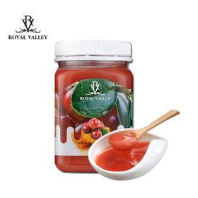 新西兰原装进口RoyalValley皇家维乐碧蔓越莓蜂蜜500g