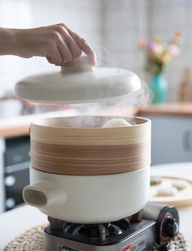 木蒸屉炖锅