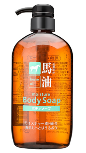日本熊野油脂天然弱酸性无硅马油美白滋润保湿沐浴露